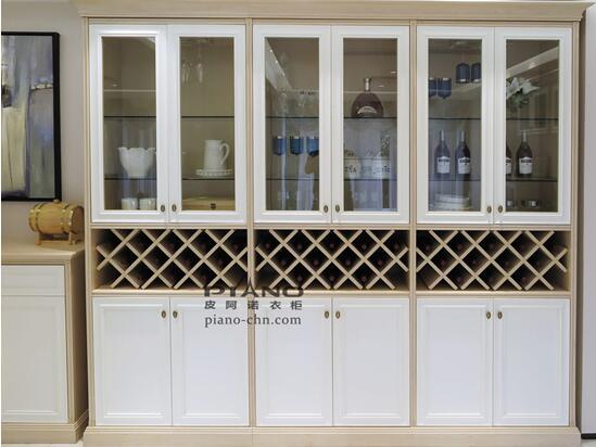 皮阿诺定制家具欧式贵生活系列酒柜讲究高雅
