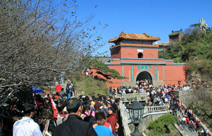 黄金周七天泰安旅游业进账22亿多 同比增长15.31%