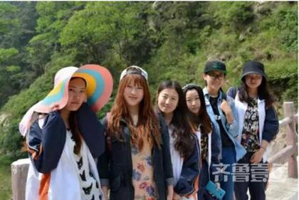 山东农业大学六个萌妹子考研进北京同一大学