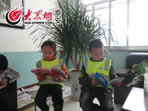 临朐:学生共读让习惯成阅读小学一个校长读2017学期泰安图片