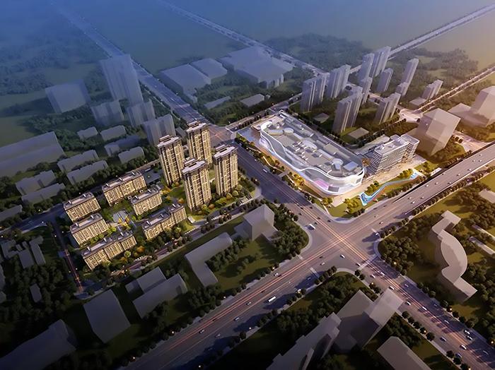 孝昌县城中广场规划图